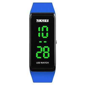 XKC-watches Relojes de Mujer, SKMEI Mujer Reloj Digital Reloj de Pulsera Reloj de