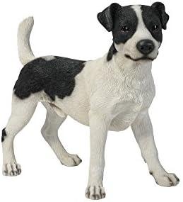 Hi-Line Gift Ltd Standing Jack Russel Dog Statue
