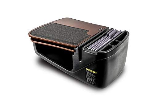 AutoExec AUE73000 GripMaster Car Desk (Mahogany Finish with Built-in Power Inverter)
