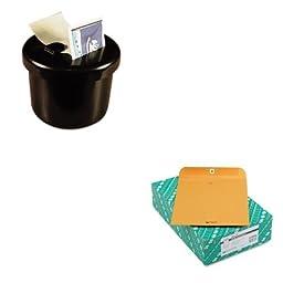 KITLEE40100QUA37895 - Value Kit - Quality Park Clasp Envelope (QUA37895) and Lee Ultimate Stamp Dispenser (LEE40100)