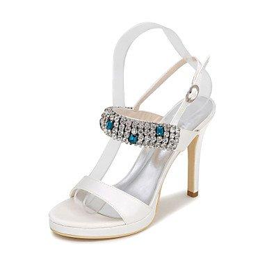 Wedding amp;Amp; Sandals Fall Platform Summer Spring US8 Silk Sandals Evening EU39 Women'S UK6 CN39 Heels Party vn81wF