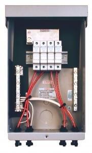 MidNite Solar MNPV4-MC4 4 Circuits Pre-Wired Combiner Box by MidNite Solar