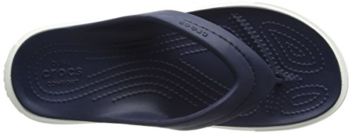 Mixte Citilaneflip Chaussons navy Crocs white Bleu Mules Adulte qSHwAU