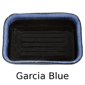 Lasagna Pan in Garcia Blue Glaze. by ALWAYS AZUL POTTERY