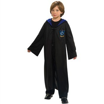 Cheap Harry Potter Robes (Rubie's Harry Potter Ravenclaw Hooded Robe Child Costume Medium)