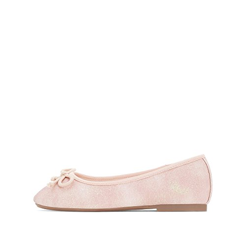 La Redoute Collections Big Girls Pink Sparkly Ballet Pumps Pink NSWYEUN