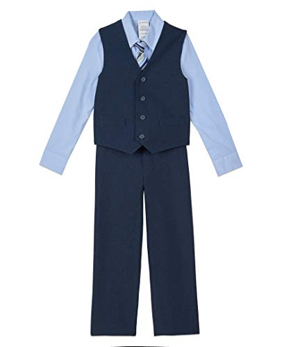 Van Heusen Boys' 4-Piece Formal Suit Vest Set