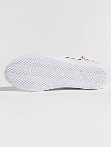 Chaussures Pieces Baskets Blanc Flower psMoa Femme TTa5qwpf