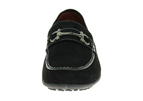 LN Shoe Mens On Leather Kimo Black NATAZZI LUCIANO Moccasin Suede Driving Slip wrpxRqrX