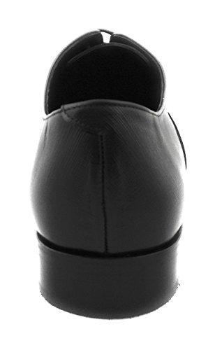 Vache avec de pour Chaussures qualité Fabrication Cuir en de Noir Hommes Zerimar de Haute Espagne Artisanale 8Pw5S7Sxq
