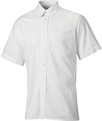 Dickies SH64250-WH-18.5 Oxford - Camisa de manga corta (talla 45), color blanco: Amazon.es: Industria, empresas y ciencia