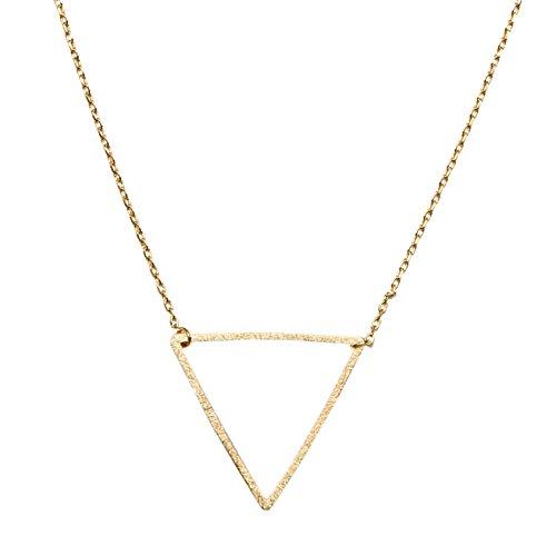Bravery Triangle Necklace SPUNKYsoul Collection