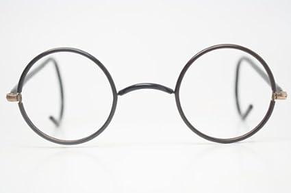 1f4f5e130 Antique Eyeglasses Black & Gold Zyl Windsor Glasses New Old Stock ...