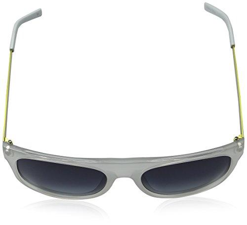 Unisex SWJQFZ mm 6005 61 de Gafas Polaroid Polarized Sol Blanco Adulto 61 1apwqBT