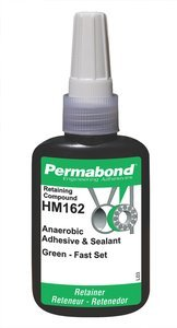 50mL Bottle PermabondHM162 Green High Temperature/Fast Curing Retaining Compound