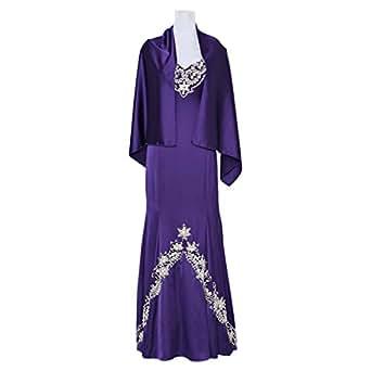 Noor Bodycon Dress For Women - 42 Eu, Purple