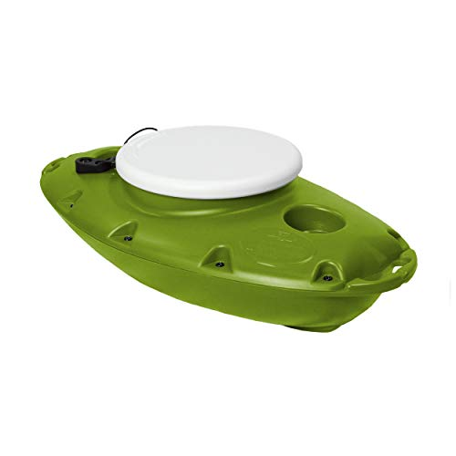 CreekKooler PuP Floating Cooler, 15 Quart, Tow Behind, Green