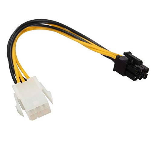 Power Cable Extension 6pin to 6pin PCIe Power Cable for Video Card - Computer Cables & Connectors For Power - 1 x 6-pin to 6-pin PCIe Power Cable -