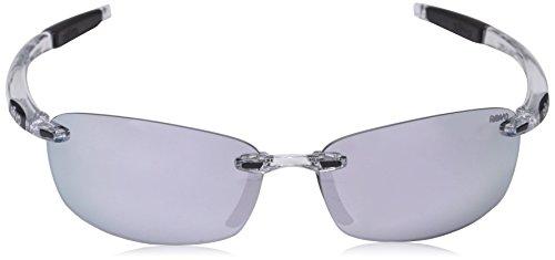 dbfa4f09a54 Revo Unisex Unisex RE 4060 Descend E Rectangular Polarized UV Protection  Sunglasses