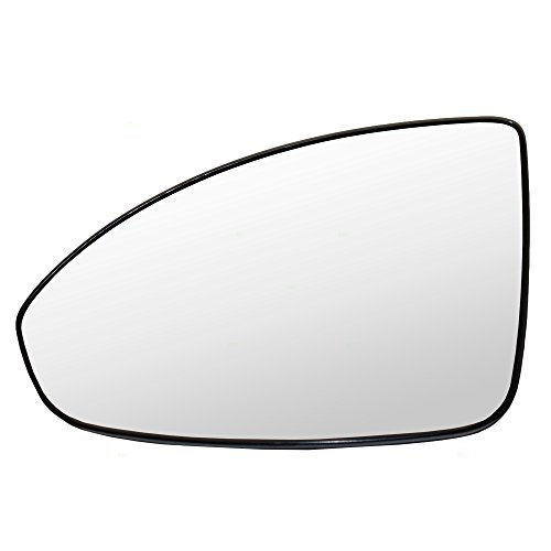 Drivers Power Side View Mirror Glass & Base Heated Replacement for Chevrolet Cruze & Cruze Limited 95215098 GM1324128
