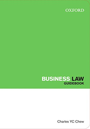 Business Law (Law Guidebook Series)