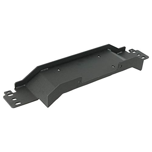EAG Raised Winch Mounting Plate for Factory Bumper