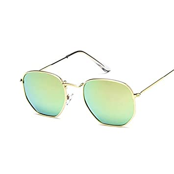 YXCCHZS Gafas De Sol Lentes Azules De La Vendimia Gafas De ...