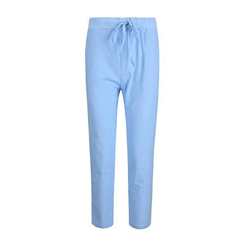 Zhongyu Pantalon Sky Bluec Femme Sky Zhongyu Femme Bluec Femme Sky Zhongyu Pantalon Pantalon rnfSrpq
