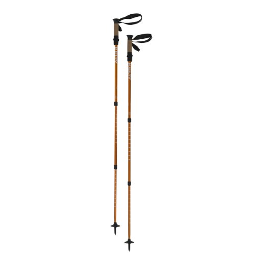 Kelty Ridgeline 2.0 Trekking Pole, Orange, Pack of 2, Outdoor Stuffs