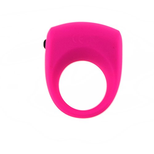 MaYaMang Vibrating Ring Penis Ring Vibrator Cock Ring Sex Products Adult Ring Sex Toys for Men Penis Sleeve Juguetes Sexuales (Pink)