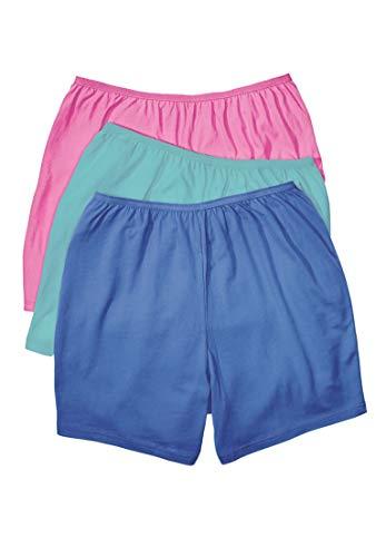 a065ad96d001 Comfort Choice Women's Plus Size 3-Pack Cotton Boyshort | Weshop Vietnam