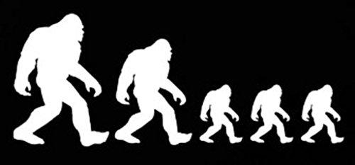 [NI273 Bigfoot Sasquatch Family Stick Figure Decal Sticker  ] (Making A T-rex Costume)