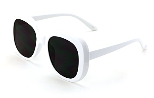 V.W.E. Vintage Sunglasses UV400 Bold Retro Square Oval Mod Thick Frame Sunglasses Butterfly - Square Retro Sunglasses