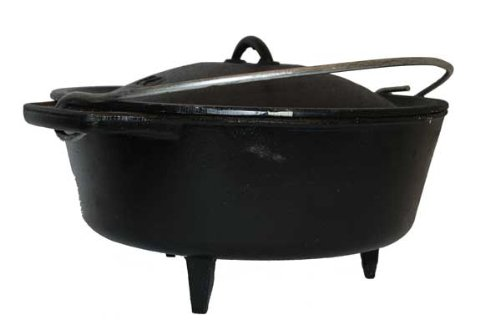Dutch Oven – Bake Size 12 Pot from South Africa – 5 Litres Best Duty 010000312099