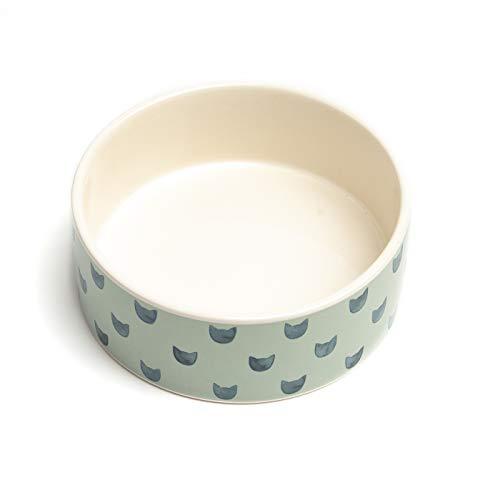 Park Life Designs Small Pet Bowl, Monty Pattern, 5-1/4
