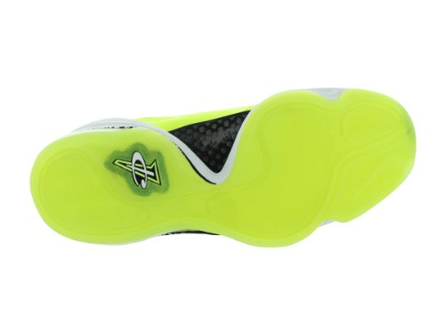 Nike Mens Air Penny V Hl Volt / Bianco-nero