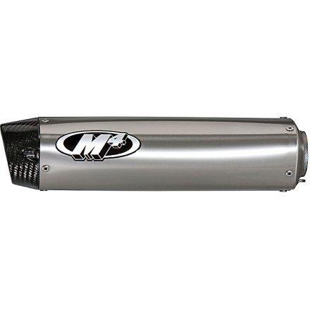 04-05 HONDA CBR1000RR: M4 Undertail Full System Exhaust - Titanium (Undertail System)