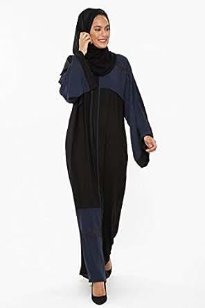 Almira Black Religion Abaya For Women