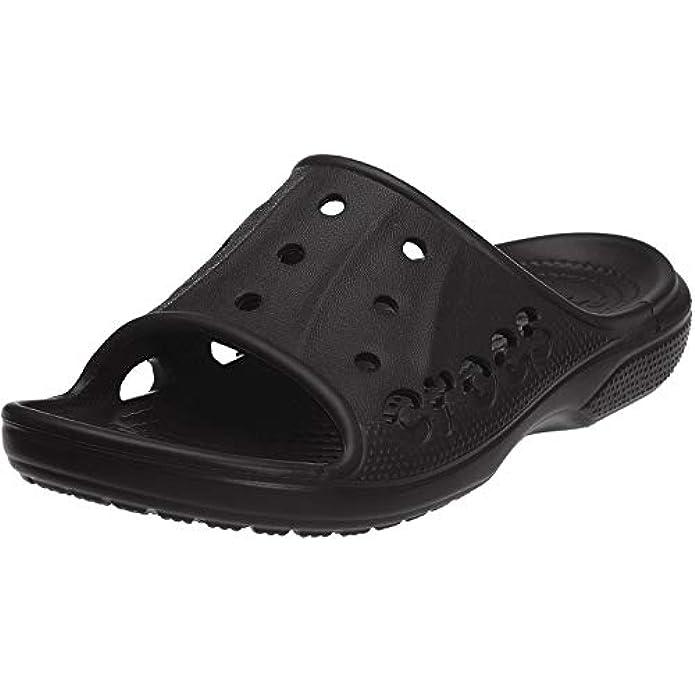 Crocs Men's and Women's Baya Slide Sandals | Comfortable Slip On Water Shoes