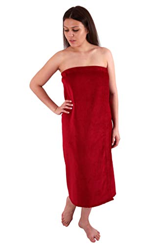 Long Size Velour (Extra Soft) Women`s Body Wrap, Shower & Bath, Terry Spa Towel, Made in Turkey ()