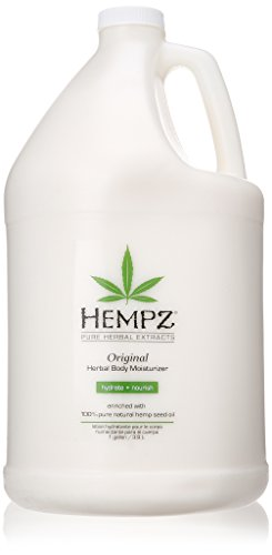Hempz Moisturizer Lotion Gallon, 128 Ounce