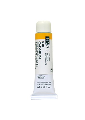 (Holbein Artists' Watercolors - Cadmium Yellow Light - 5ml Tube)