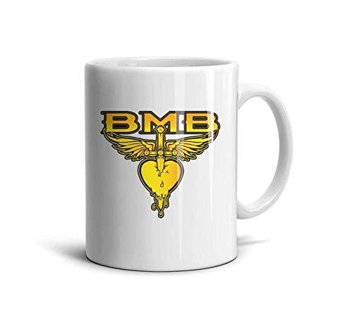 Bon-Jovi-Rock-Band-This-is-Our-House- Classic Coffee Mugs 11oz Ceramic Tea Cups,Bon Jovi Logo,One Size