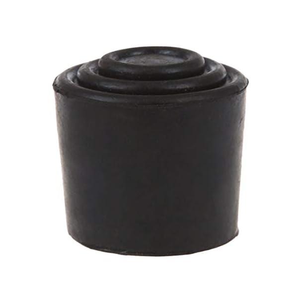 Fifet Titolare di Gomma Nera Rotonda della Copertura del Piede Sedia Tavolo Copertura del Piede Mobili Tre Centimetri… 2 spesavip