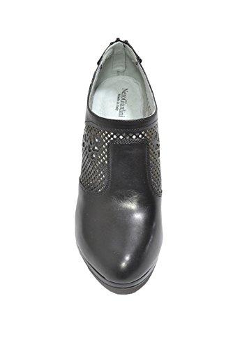 Nero Giardini Polacchini scarpe donna nero 7003 P717003D