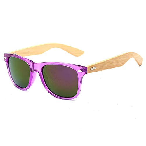 Pausseo Bamboo Frame Sunglasses Wooden Mens Womens Retro Vintage Eyewear Running Cycling Fishing Driving Safety Softball Hiking Sports Lightweight Radiation Protection Summer Glasses