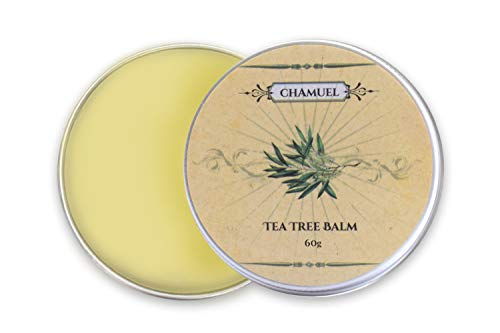Tea Tree Oil Balm -100% All Natural | Relieves Common Skin Irritations. Great Cream for Soothing Eczema, Psoriasis, Rashes, Dry Chapped Skin, Cuticles, Hemorrhoids, Saddle Sores and More! Guaranteed (Tea Tree Oil For Ear Infection In Toddler)