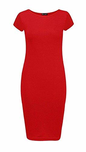 Macheron Haut Femme Mi Trendy 1 Stretch Red Uni Long Maxi clothingsRobe lF3uc1JTK