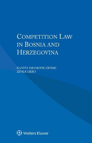 Competition Law in Bosnia and Herzegovina