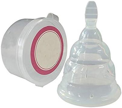 LQNB Copa Menstrual Plegable Silicona MéDica Mujer Partes Privadas Cuidado Salud Copa Menstrual Resistente a las Fugas Transpirable